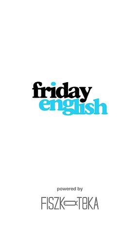 Fiszkoteka Friday English
