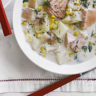 Creamy Salmon Chowder.