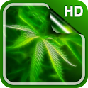 Weed Live Wallpaper HD icon