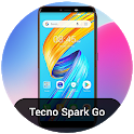 launcher theme for Tecno Spark Go pro icon