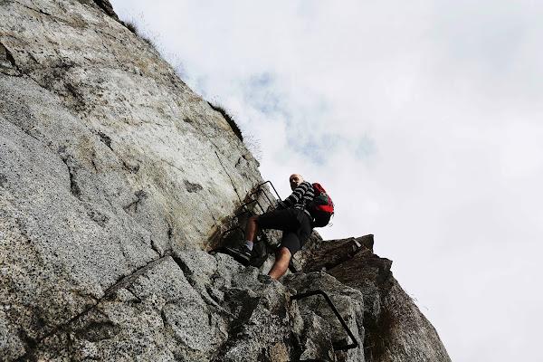 vie ferrate di alta montagna di roberto-copeta