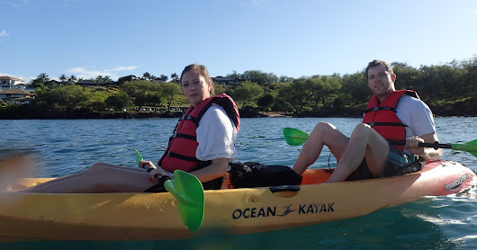 5.22.18 Kayak at Makena with Curtis