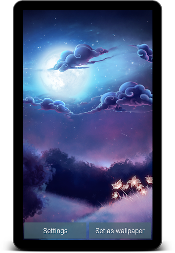 Starlight Live Wallpaper Free screenshot 8