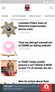 Dating Scams 101- screenshot thumbnail