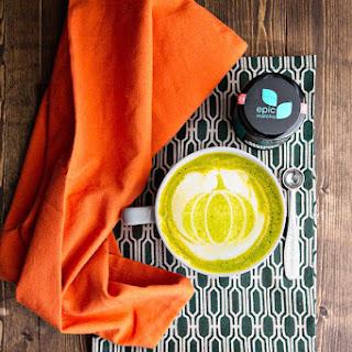 Epic Pumpkin Spice Matcha Latte