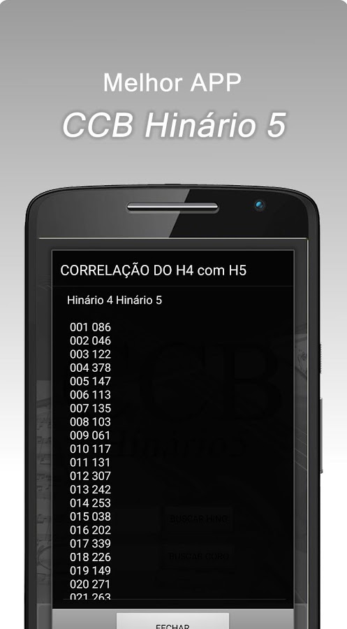 Hinário Virtual Nº 5 - CCB- screenshot