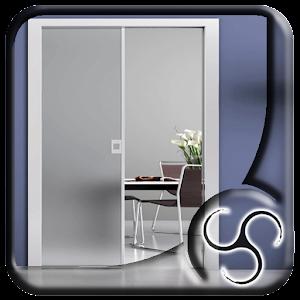 Glass pocket door design android apps on google play for Door design app