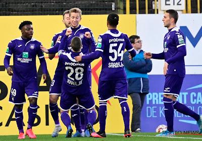 Les joueurs d'Anderlecht vont-ils ne plus célébrer leurs buts de la même manière ?
