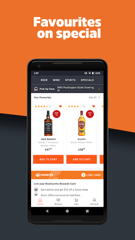 Buy Alcohol Online | BWS | Beanstalk Mums
