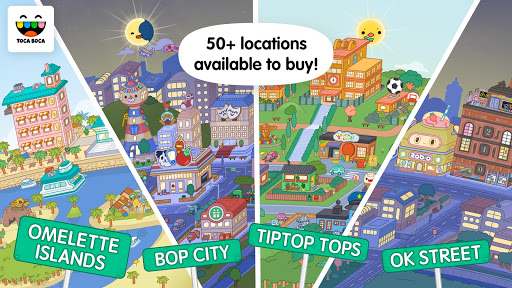 Toca Life World - Create stories & make your world screenshots apkspray 3