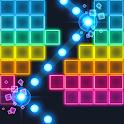 Brick Breaker: Neon-filled hip hop! Monster ball icon