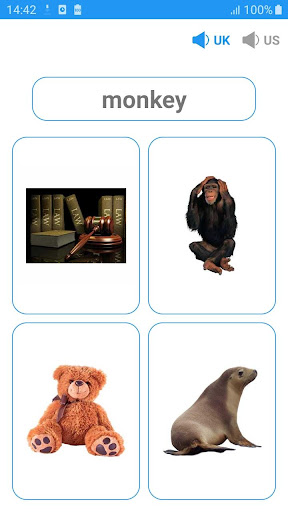 English vocabulary by picture & Speak English - screenshot