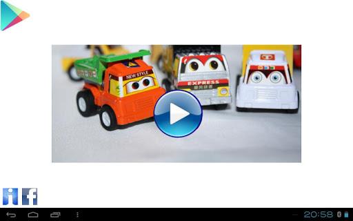 Puzzle pro děti auta pro děti