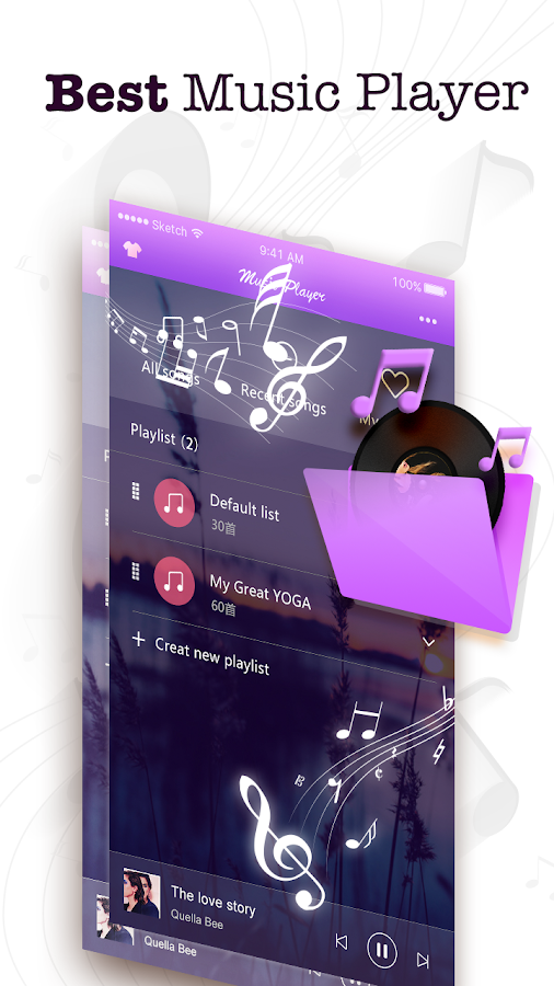 Music Player & Radio- screenshot