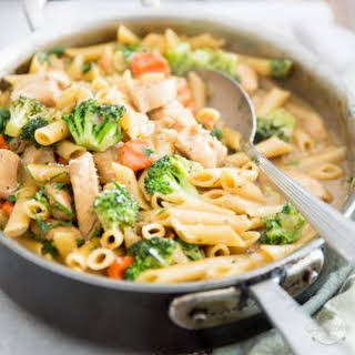 One-Pot Creamy Chicken Pasta.