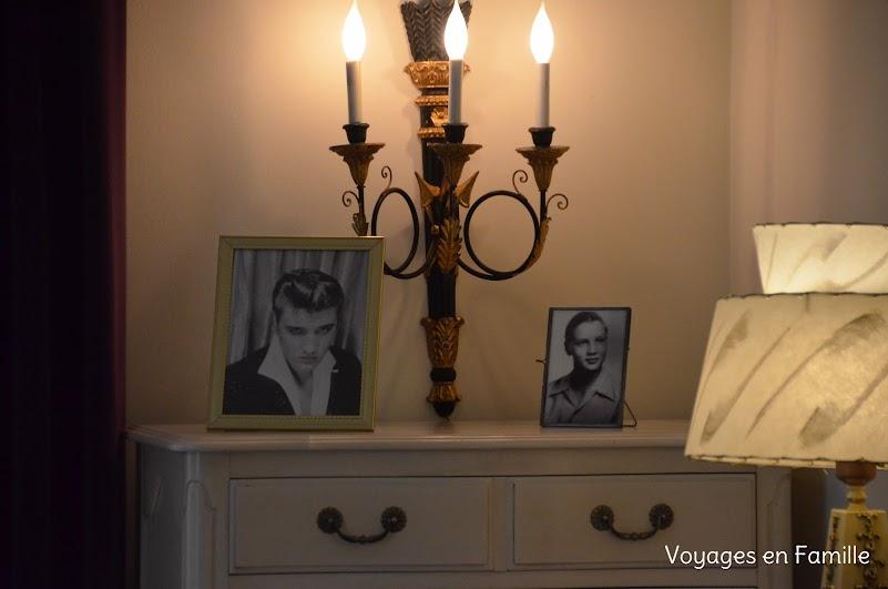 Graceland - Chambre des parents d'Elvis