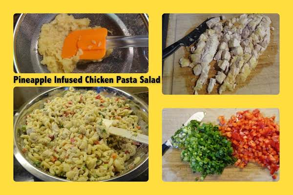 Pineapple Infused Chicken Pasta Salad Recipe