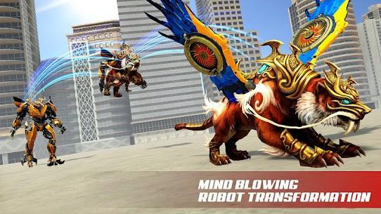 Flying Tiger Robot Bike – Ultimate Robot 5