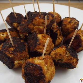 Blackened Cajun Turkey Meatballs.