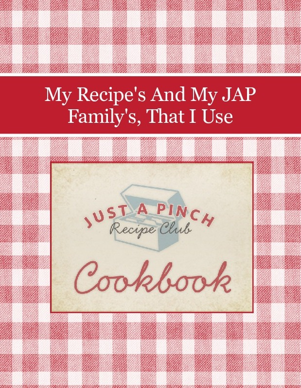 My Recipe's And My JAP Family's, That I Use