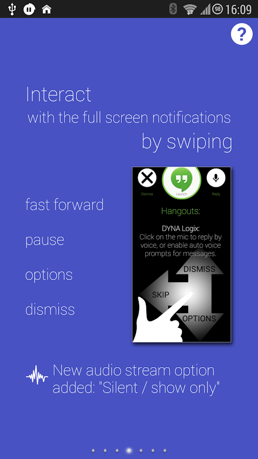 Touchless Notifications Pro- screenshot