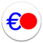 ユーロ計算機:電卓・メモ帳機能つき Icon