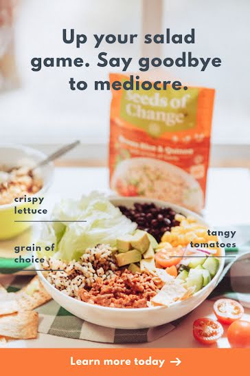 Up Your Salad Game - Pinterest Pin template