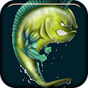 Angry Fish Live Wallpaper icon