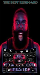 the best Keyboard theme for james harden - náhled