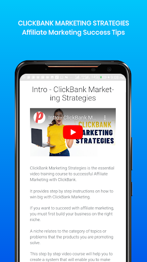 ClickBank Marketing Strategies screenshot 1