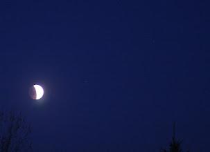 Photo: Eclipse 5:55 am