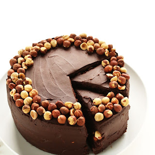 1 Bowl Chocolate Hazelnut Cake (Vegan + GF)