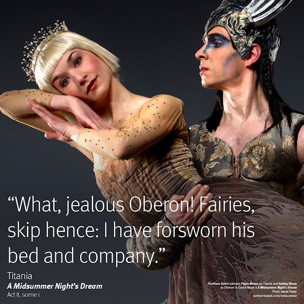 Photo: Northern Ballet dancers Pippa Moore & Ashley Dixon. Photo Jason Tozer.