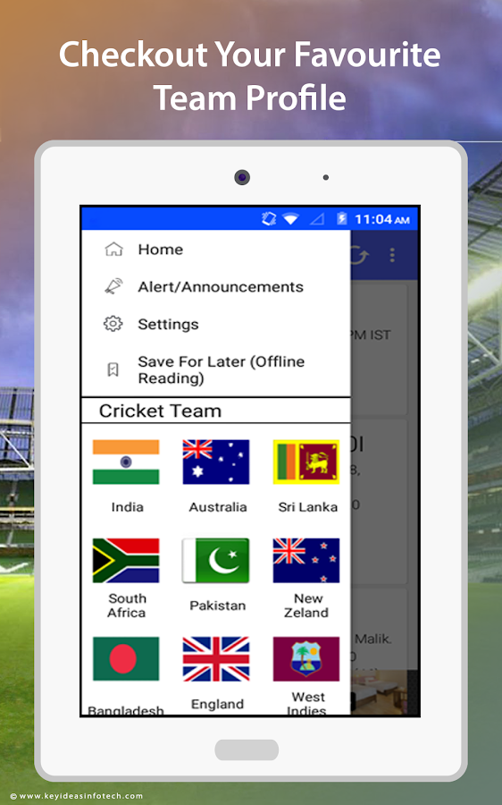 Like Cricket – Live Scores- screenshot