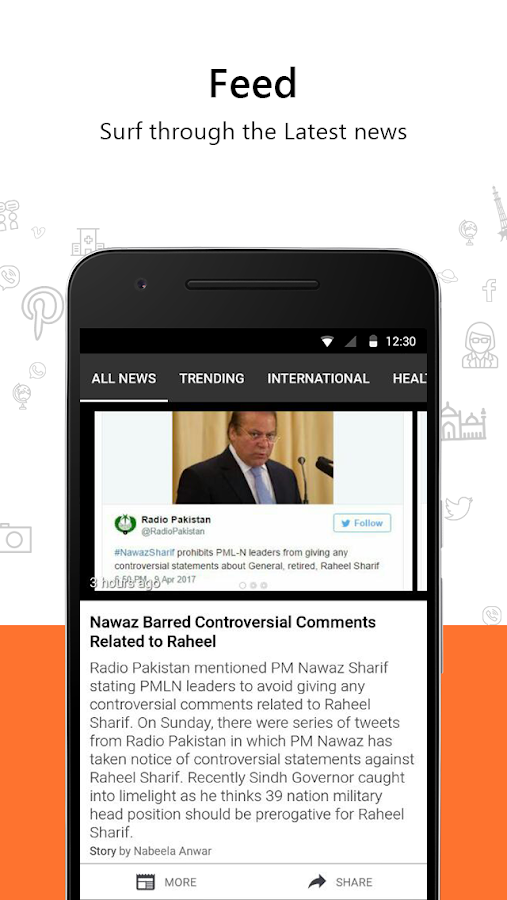 NIN60: Latest Pakistani News- screenshot