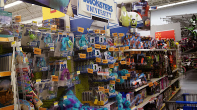Photo: I can't wait to see Monster's University! Look at all the fun toys for the kiddos. Sully is my favorite character. Who is yours?