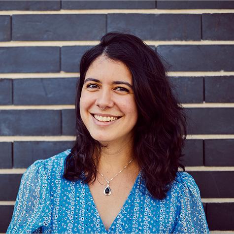 Carmela Acevedo arbeitet als Softwareentwicklerin im Münchner GSEC.