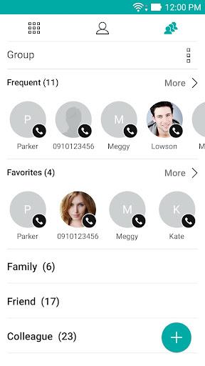 ZenUI Dialer & Contacts screenshot 2