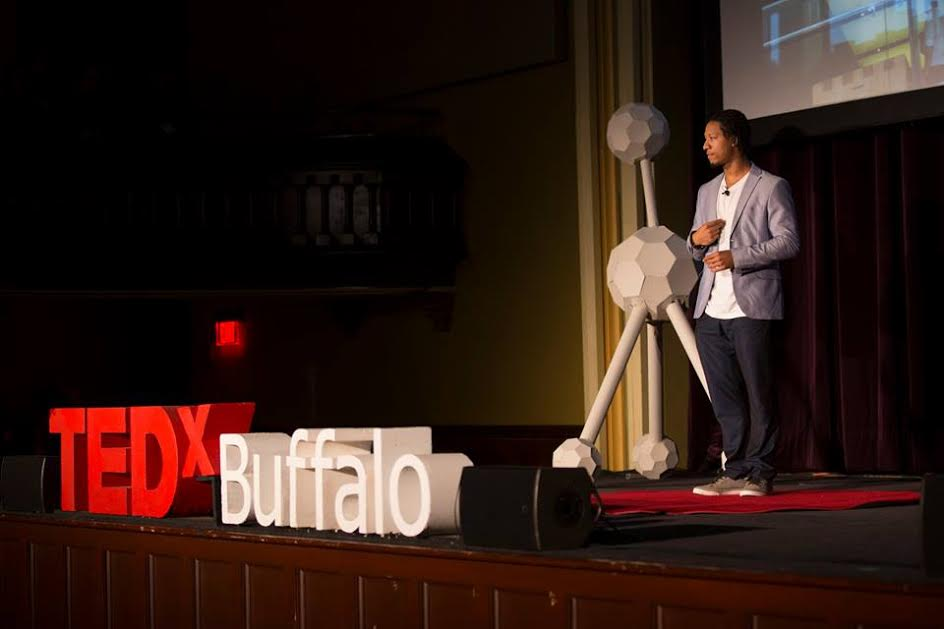 Speaking at TEDx Buffalo