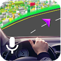 Free GPS, Voice Navigation Map – GPS Speed Meter icon
