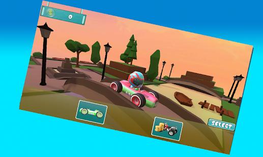 3D Buggy Endless Runner - náhled