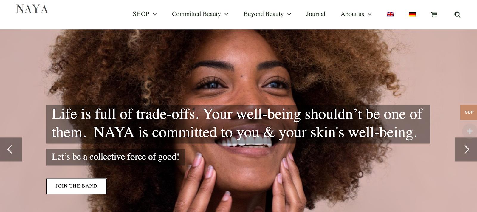 Naya Skincare | Natural Beauty Products