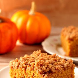 The Best Pumpkin Coffee Cake