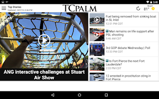Screenshot of TCPalm