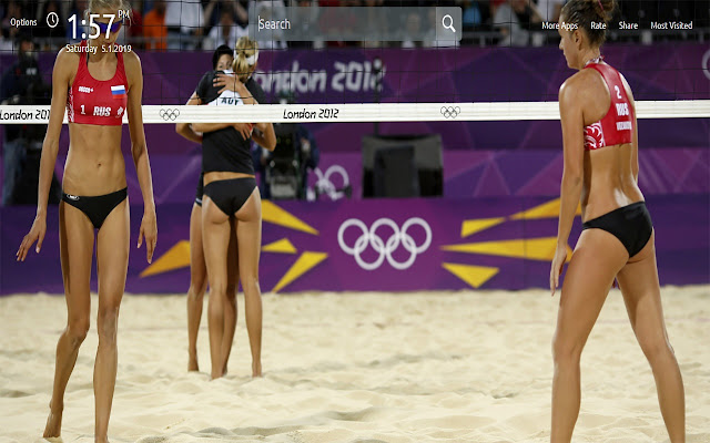 Volleyball Wallpapers Theme New Tab