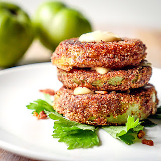Fried Green Tomato With Dipping Sauce Recipes