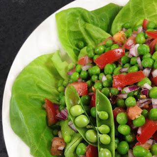 Four Ingredient Easy Pea Salad