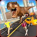 Dino Beast Attack - City Rampage Simulator 2019 icon