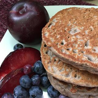 Purple Power Plum Pancakes