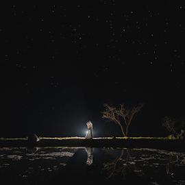 Night by Lood Goosen (LWG Photo) - Wedding Bride & Groom ( wedding dress, wedding photography packages, wedding photographer, wedding photography, lavandou venue, weddings, wedding day )